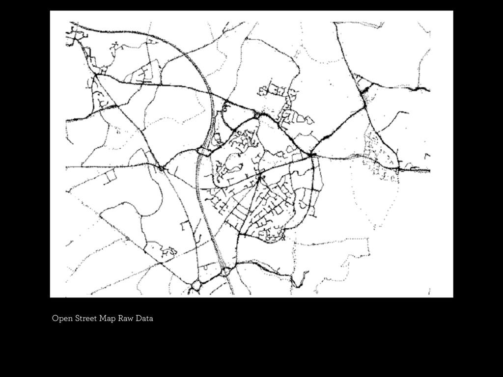 Open Street Map Raw Data