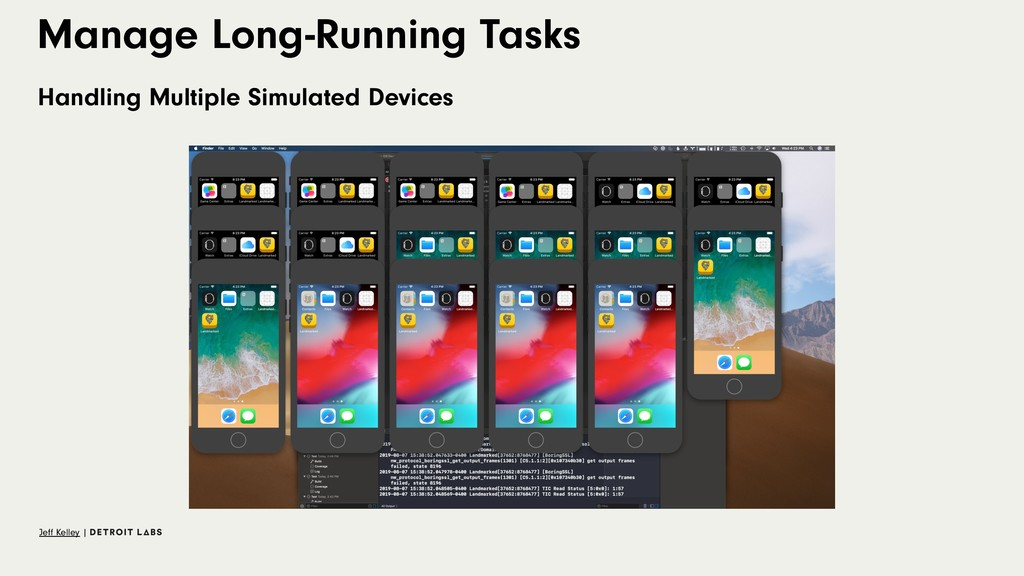 Manage Long-Running Tasks Handling Multiple Sim...