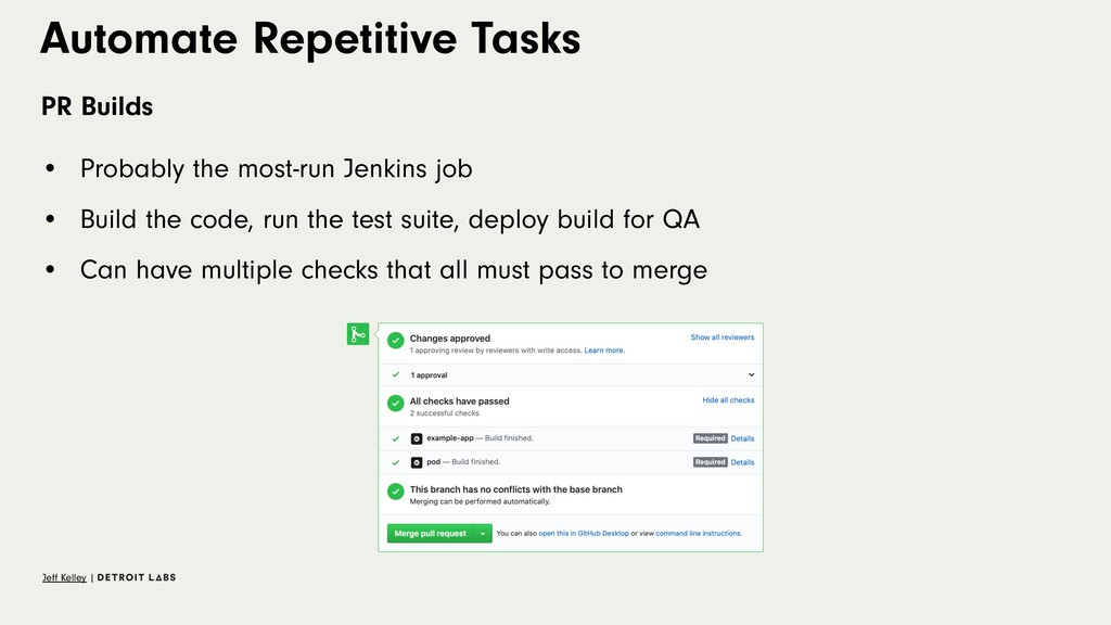 Automate Repetitive Tasks PR Builds • Probably ...