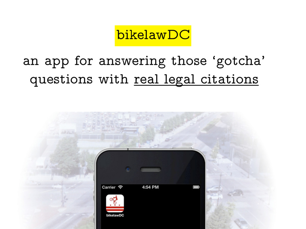 an app for answering those 'gotcha' questions w...