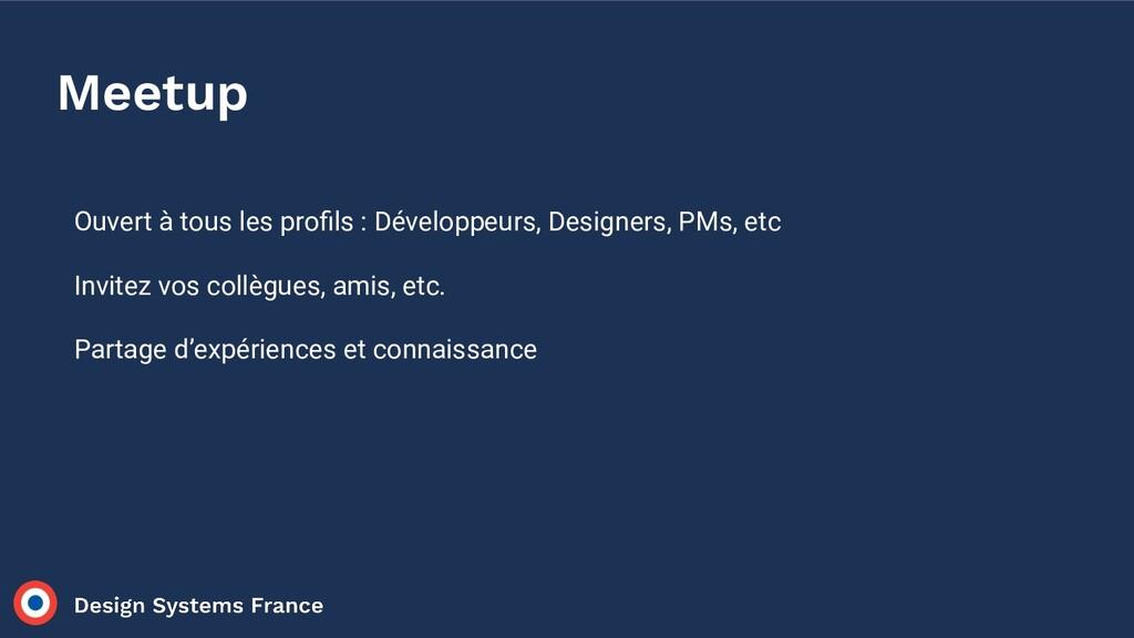 Ouvert à tous les profils : Développeurs, Design...