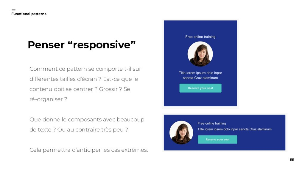 55 Functional patterns Comment ce pattern se co...