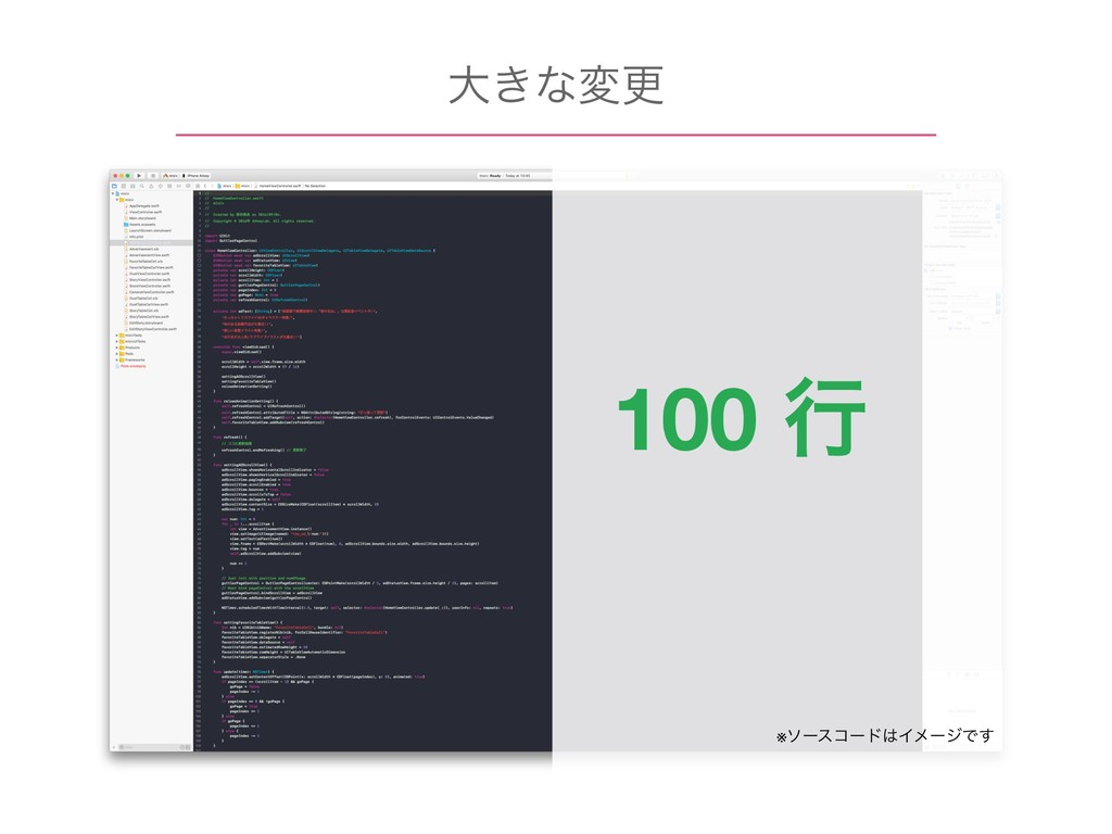 େ͖ͳมߋ 100 ߦ ※ιʔείʔυΠϝʔδͰ͢