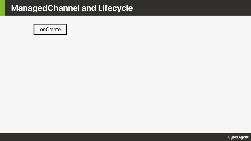 ManagedChannel and Lifecycle onCreate