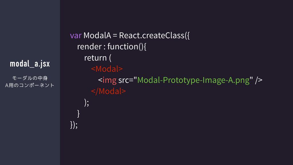 modal_a.jsx var ModalA = React.createClass({ re...
