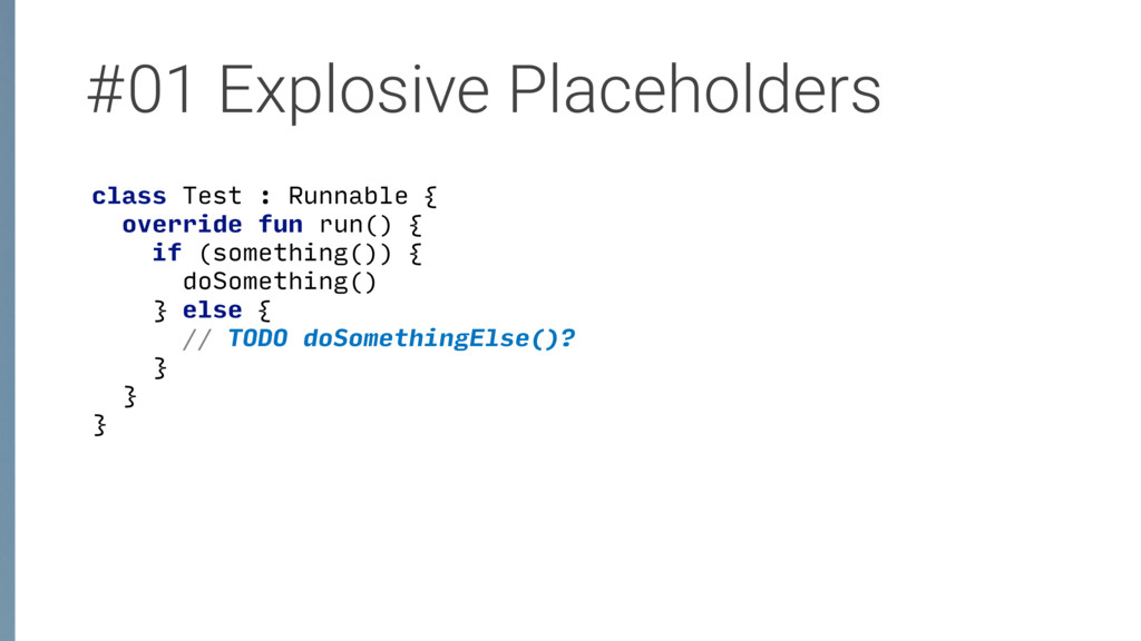 #01 Explosive Placeholders class Test : Runnabl...
