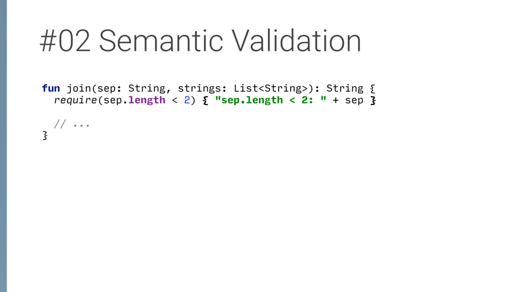#02 Semantic Validation fun join(sep: String, s...
