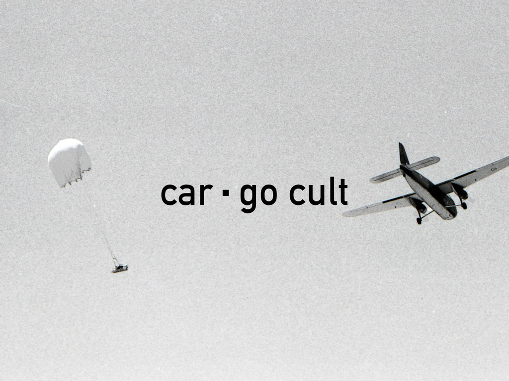 car·go cult