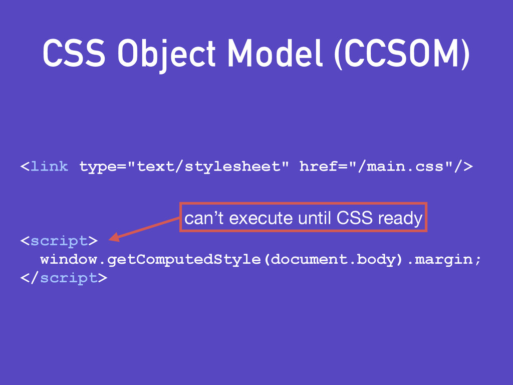 "CSS Object Model (CCSOM) <link type=""text/style..."