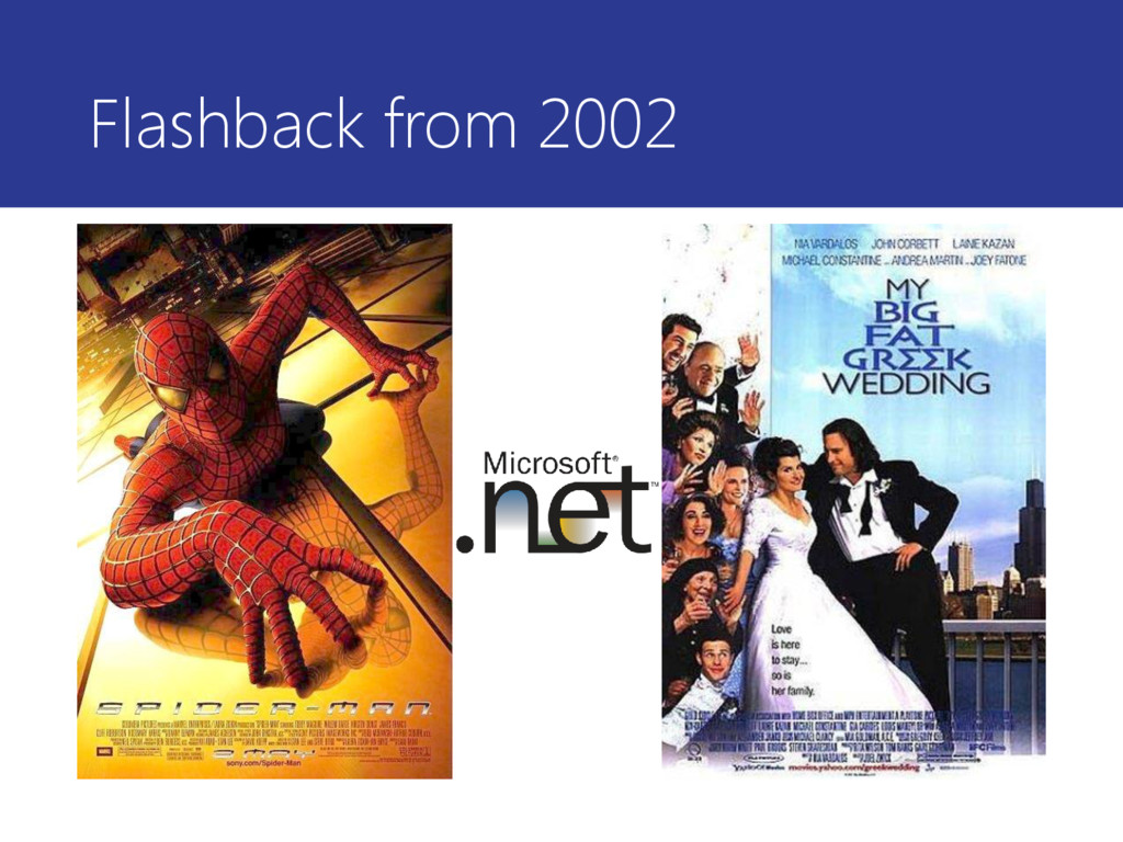 Flashback from 2002