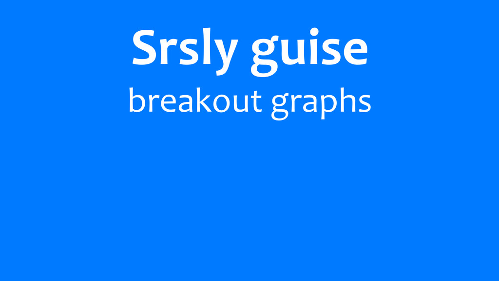 Srsly	