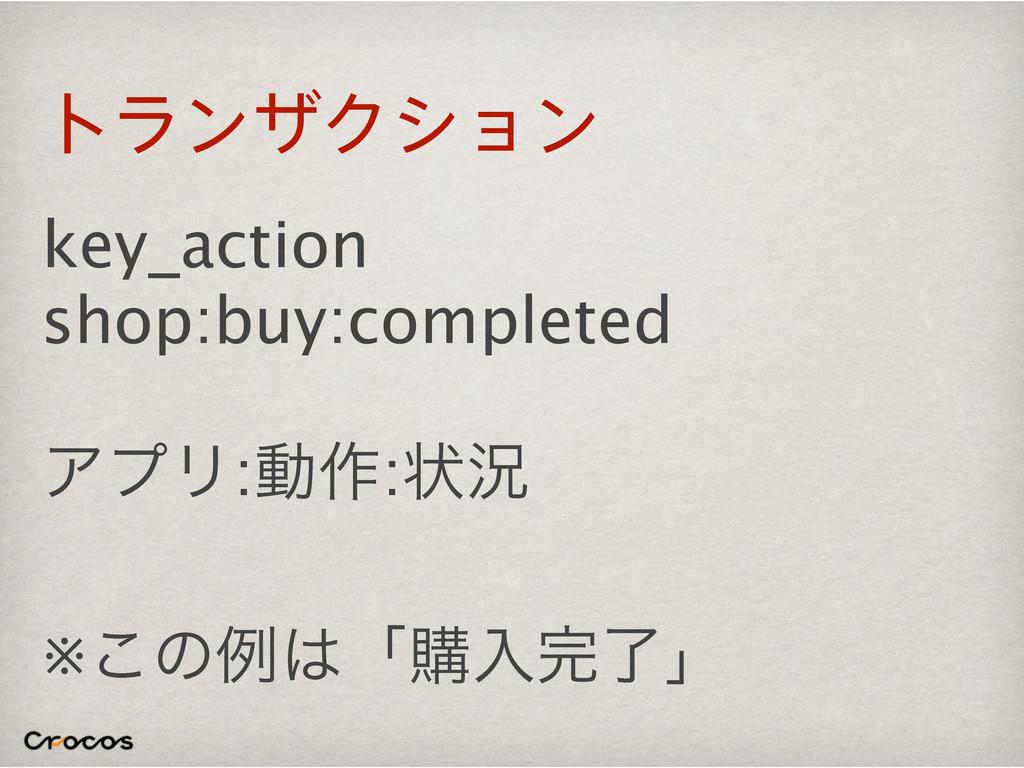 τϥϯβΫγϣϯ key_action shop:buy:completed ΞϓϦ:ಈ࡞:ঢ়...