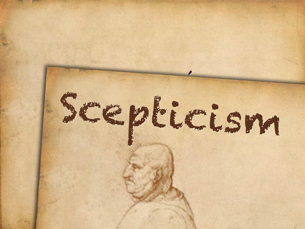 Innovation Scepticism