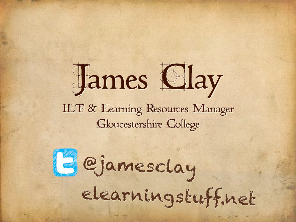 James Clay ILT & Learning Resources Manager Glo...