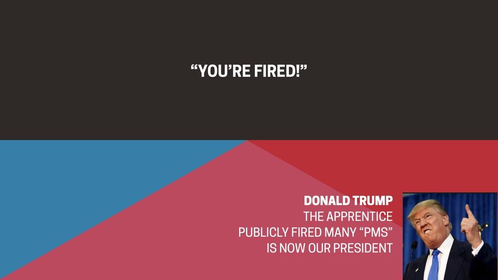 """YOU'RE FIRED!"" DONALD TRUMP THE APPRENTICE PUB..."