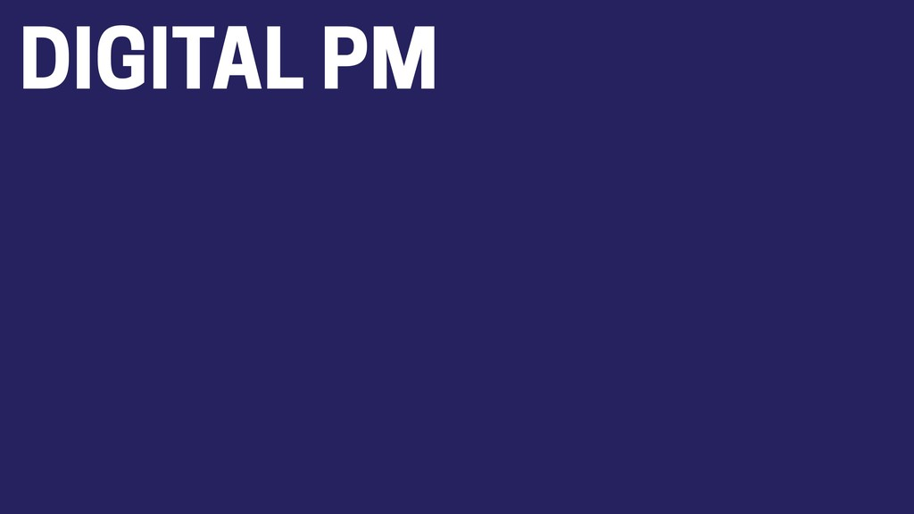 DIGITAL PM