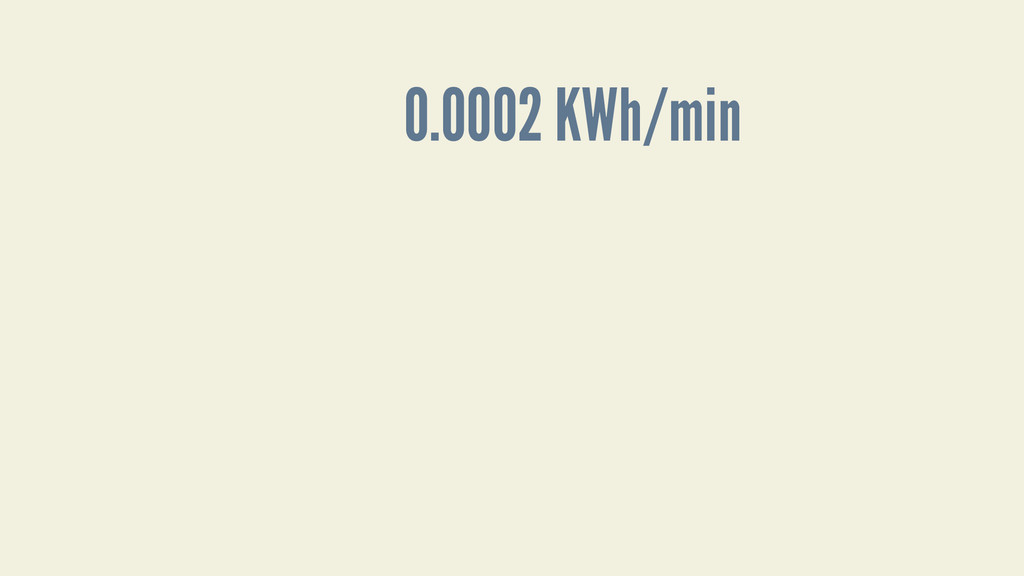 0.0002 KWh/min