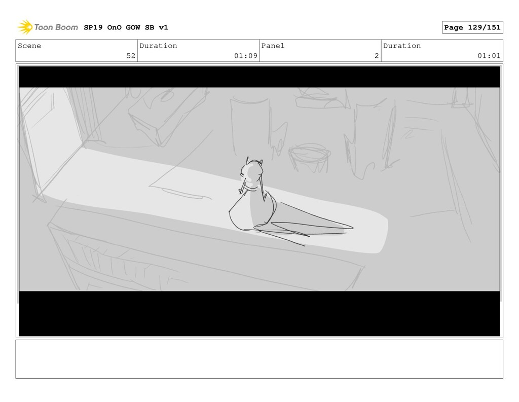 Scene 52 Duration 01:09 Panel 2 Duration 01:01 ...