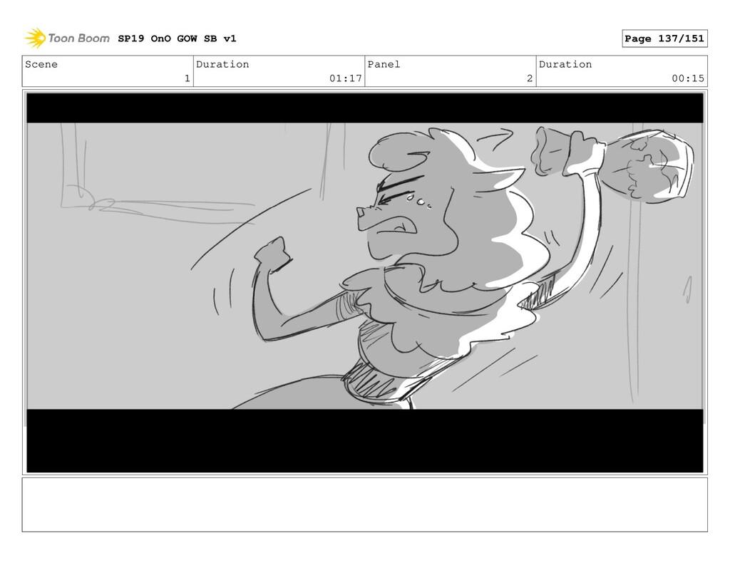 Scene 1 Duration 01:17 Panel 2 Duration 00:15 S...