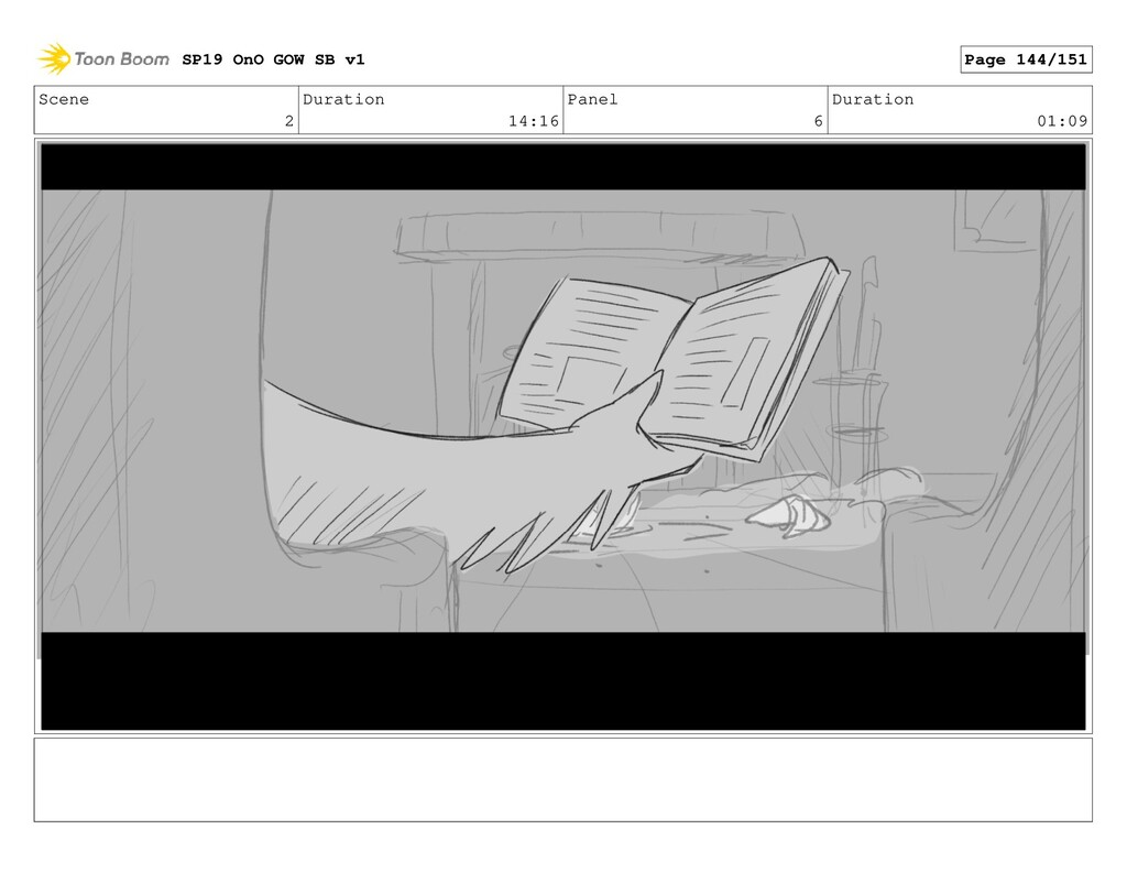 Scene 2 Duration 14:16 Panel 6 Duration 01:09 S...
