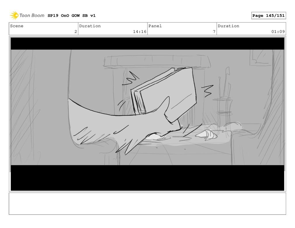 Scene 2 Duration 14:16 Panel 7 Duration 01:09 S...