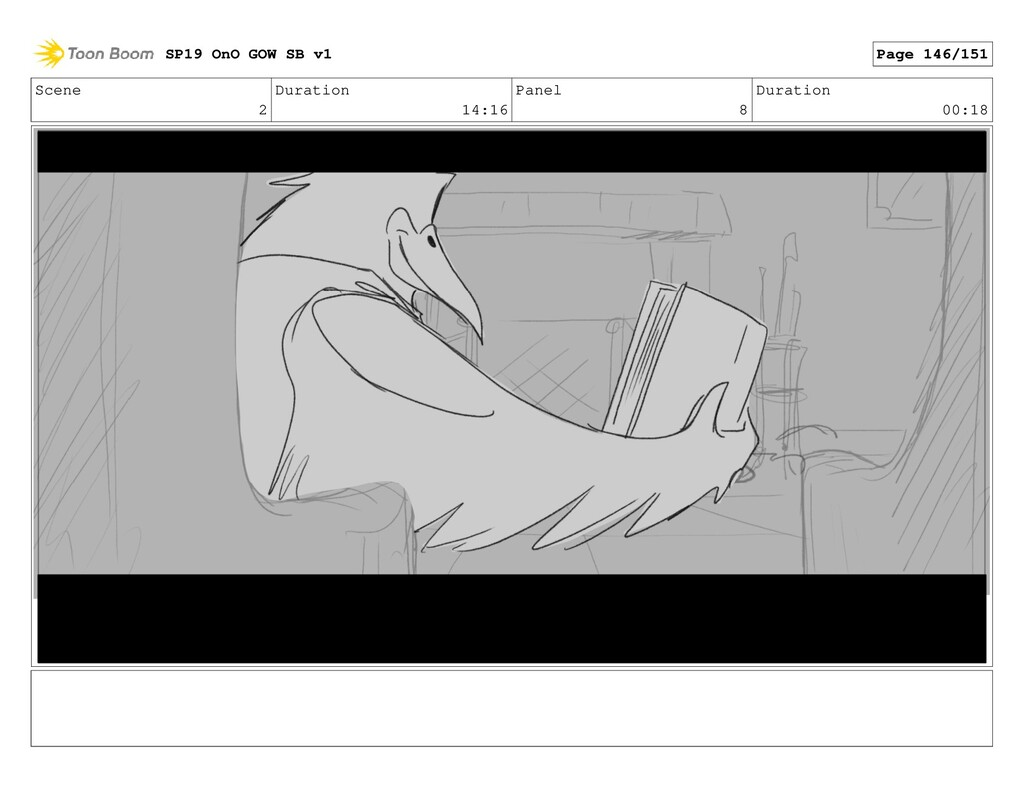 Scene 2 Duration 14:16 Panel 8 Duration 00:18 S...