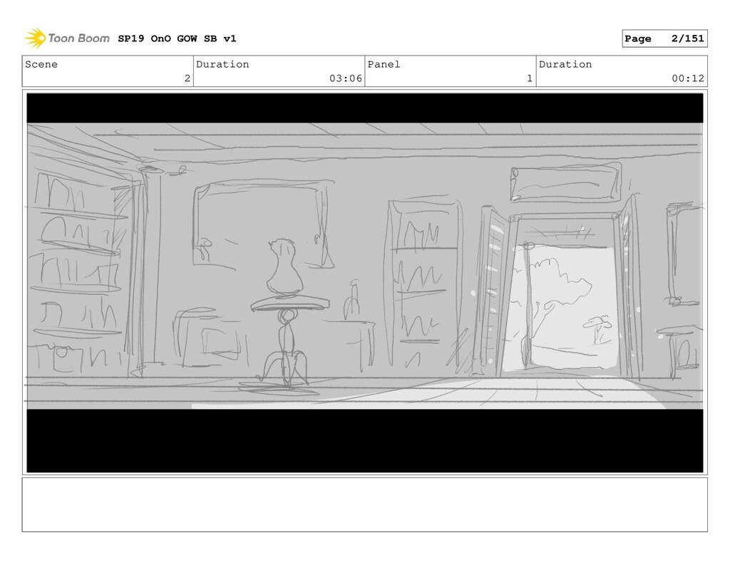 Scene 2 Duration 03:06 Panel 1 Duration 00:12 S...
