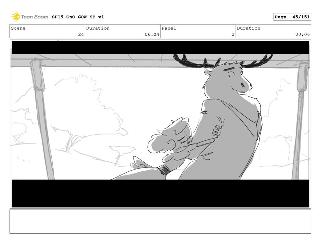 Scene 24 Duration 06:04 Panel 2 Duration 00:06 ...