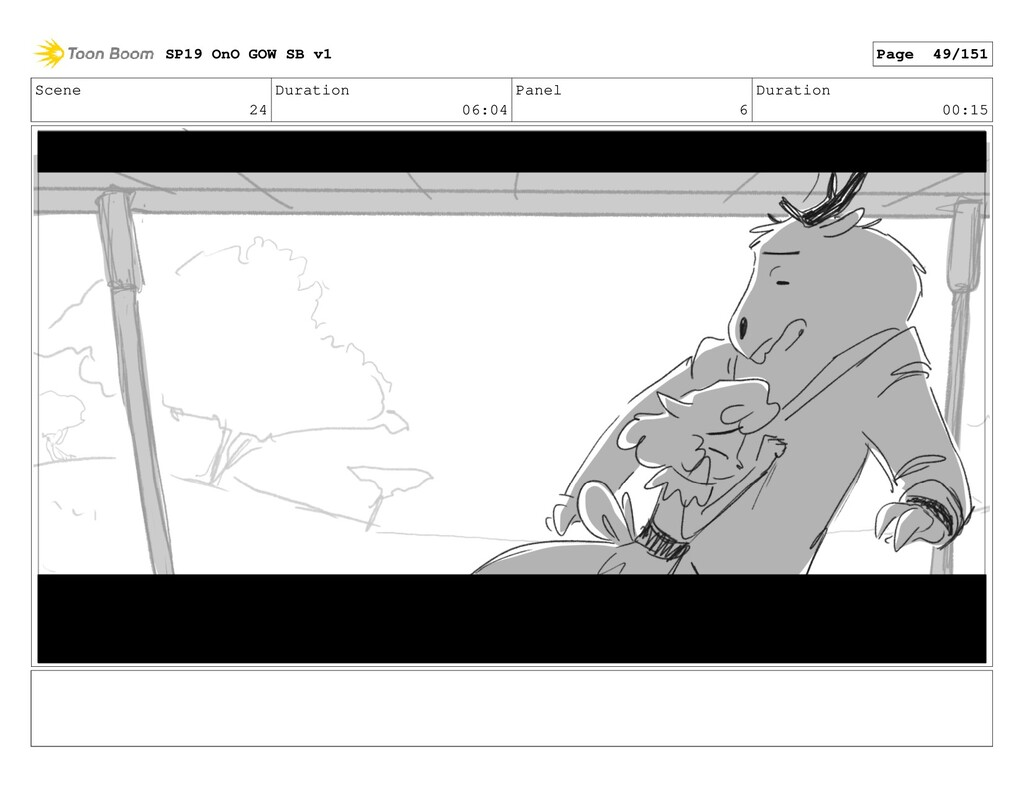 Scene 24 Duration 06:04 Panel 6 Duration 00:15 ...