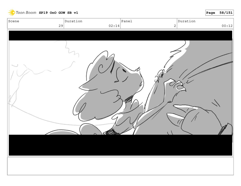 Scene 29 Duration 02:14 Panel 2 Duration 00:12 ...