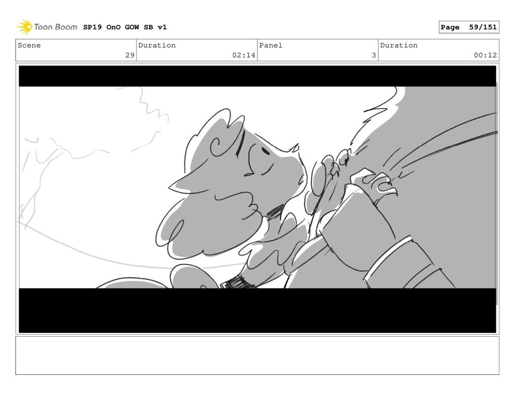 Scene 29 Duration 02:14 Panel 3 Duration 00:12 ...