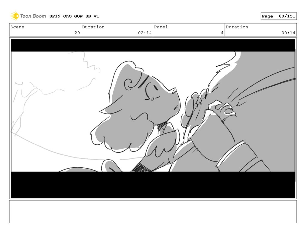 Scene 29 Duration 02:14 Panel 4 Duration 00:14 ...