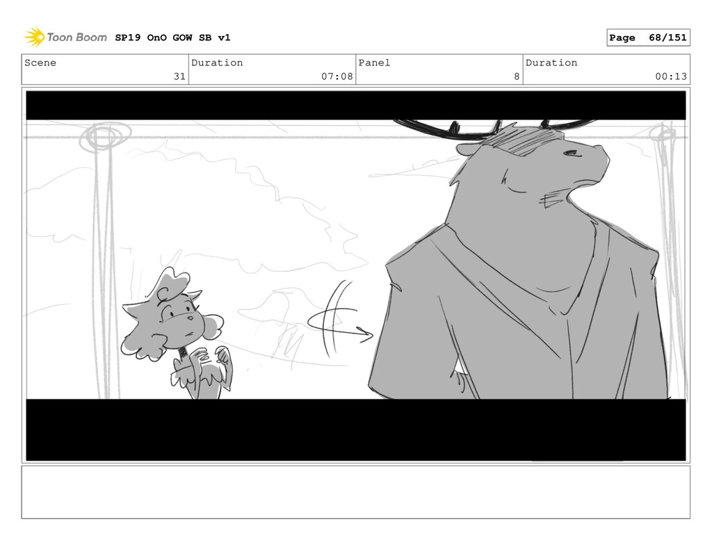 Scene 31 Duration 07:08 Panel 8 Duration 00:13 ...