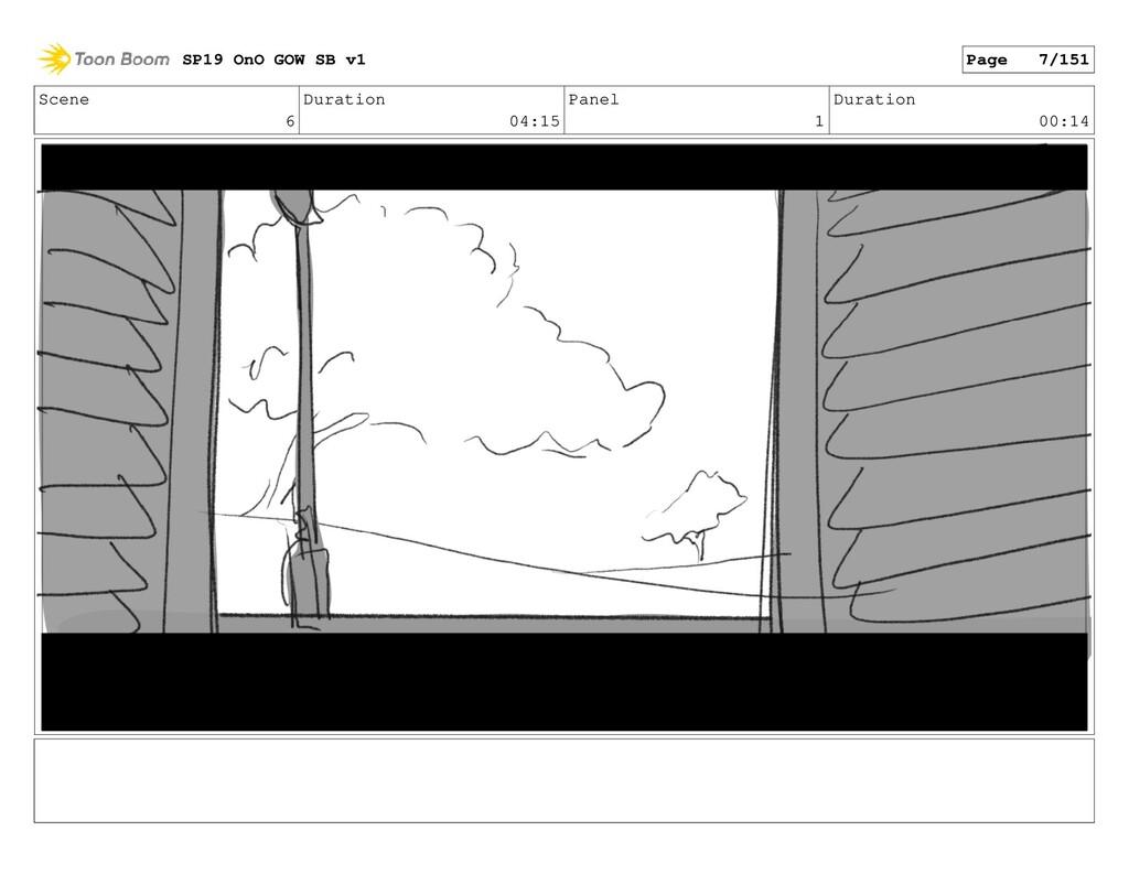 Scene 6 Duration 04:15 Panel 1 Duration 00:14 S...