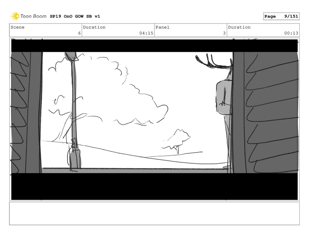 Scene 6 Duration 04:15 Panel 3 Duration 00:13 S...