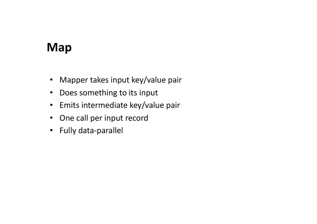 •  Mapper	