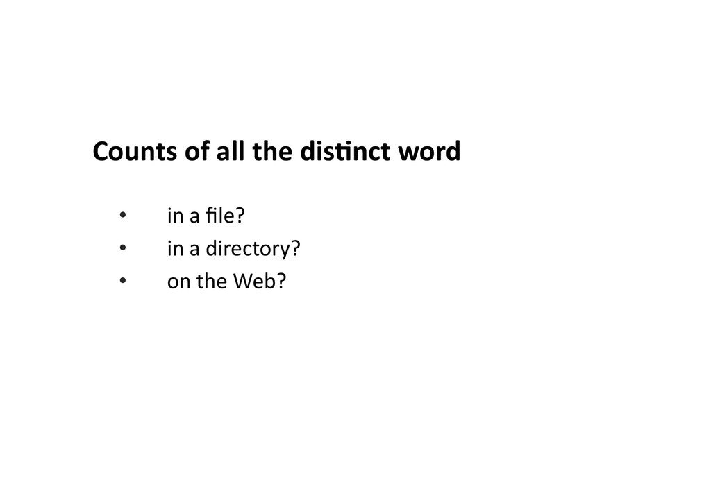 Counts	