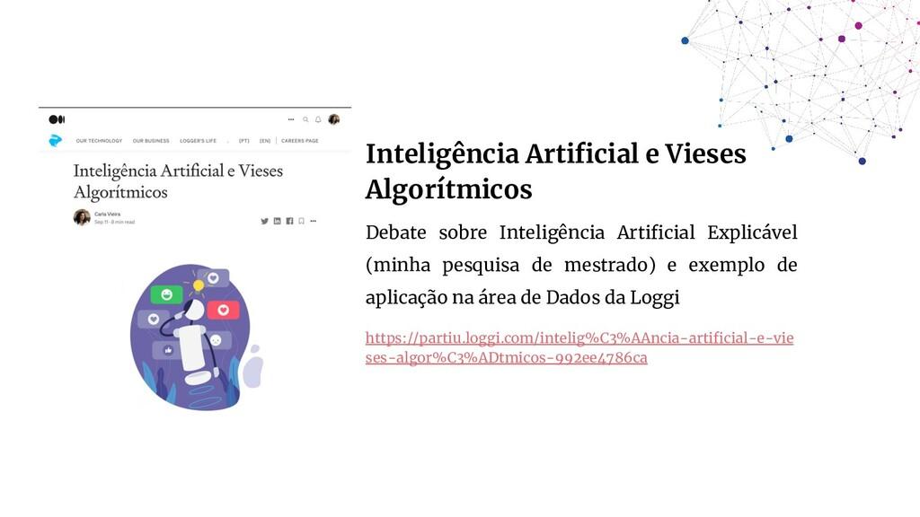 Inteligência Artificial e Vieses Algorítmicos De...