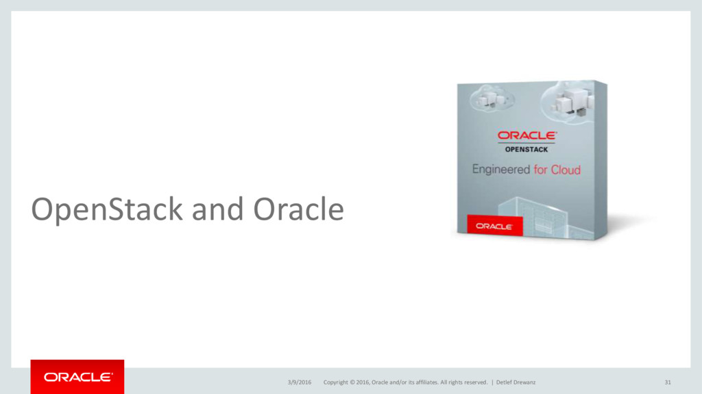 Copyright © 2016, Oracle and/or its affiliates....