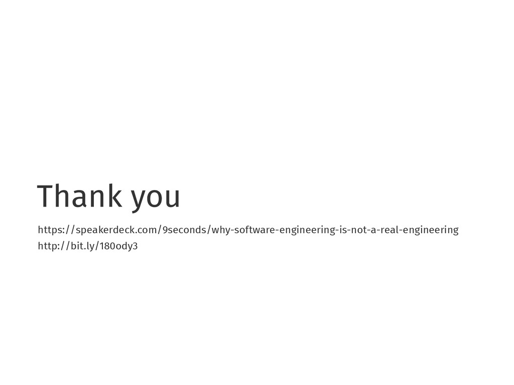 Thank you https://speakerdeck.com/9seconds/why-...