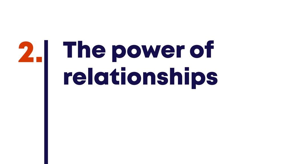 @JGFERREIRO @JGFERREIRO The power of relationsh...