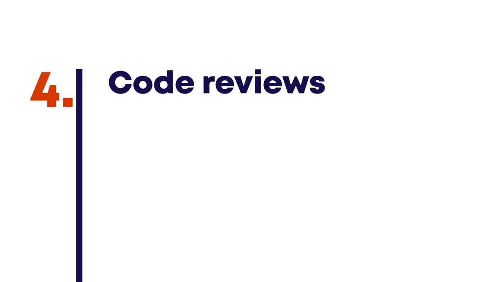 @JGFERREIRO @JGFERREIRO Code reviews 4.
