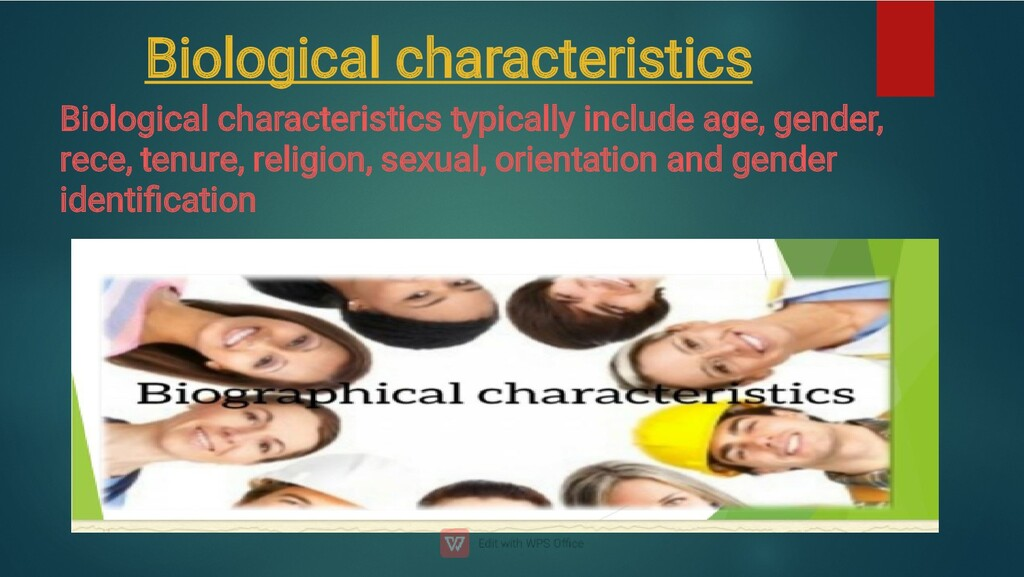 Biological characteristics Biological character...