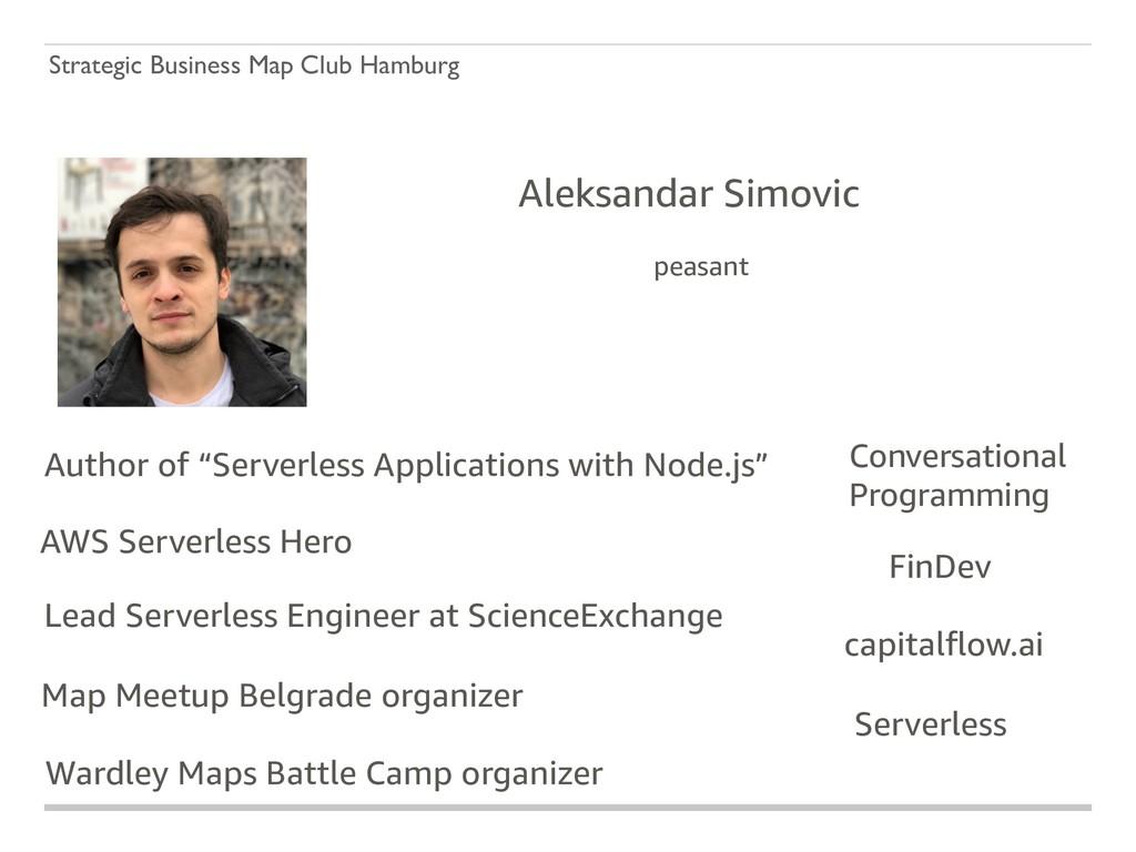Strategic Business Map Club Hamburg Aleksandar ...