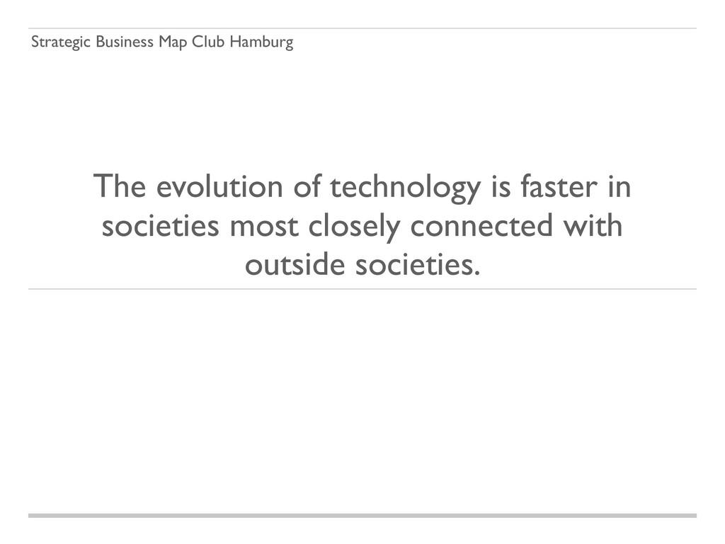 Strategic Business Map Club Hamburg The evoluti...