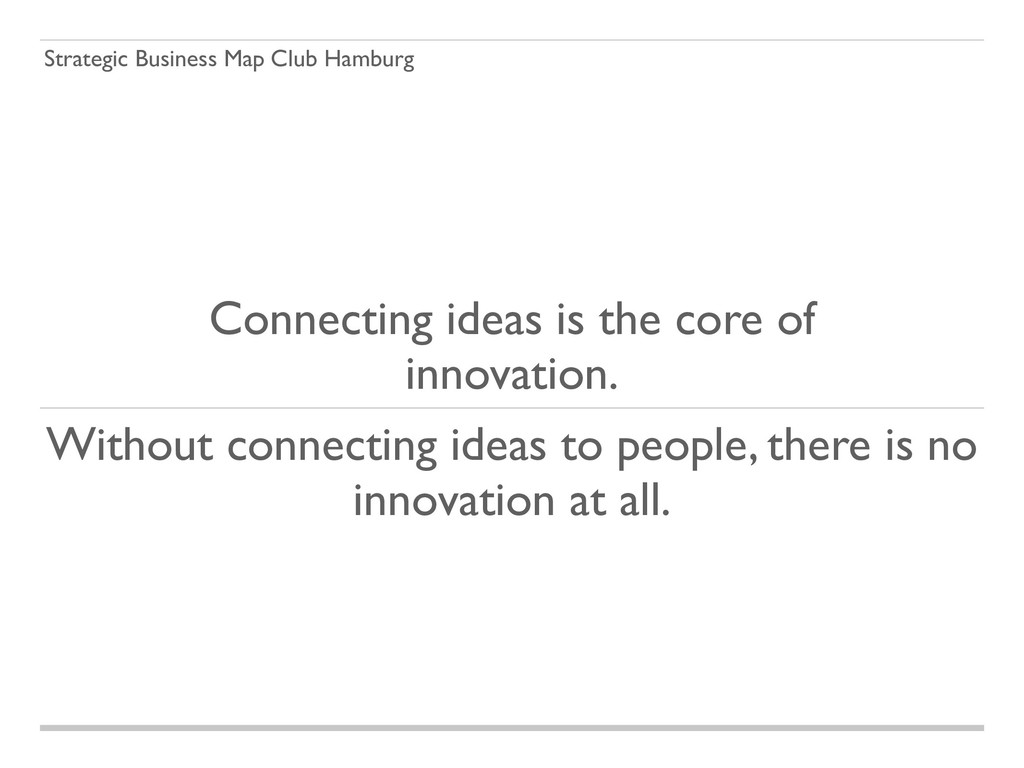 Strategic Business Map Club Hamburg Connecting ...