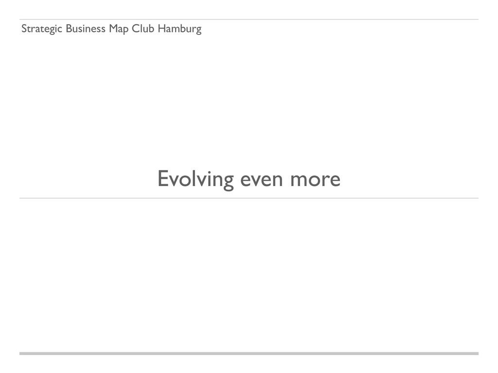 Strategic Business Map Club Hamburg Evolving ev...