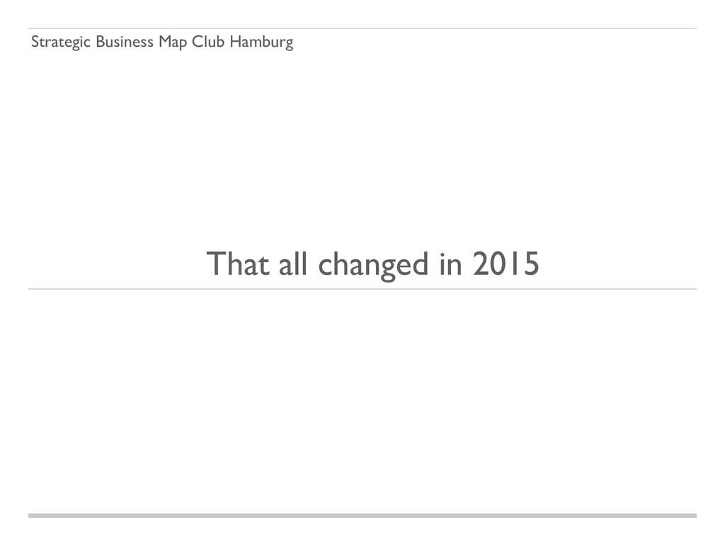Strategic Business Map Club Hamburg That all ch...