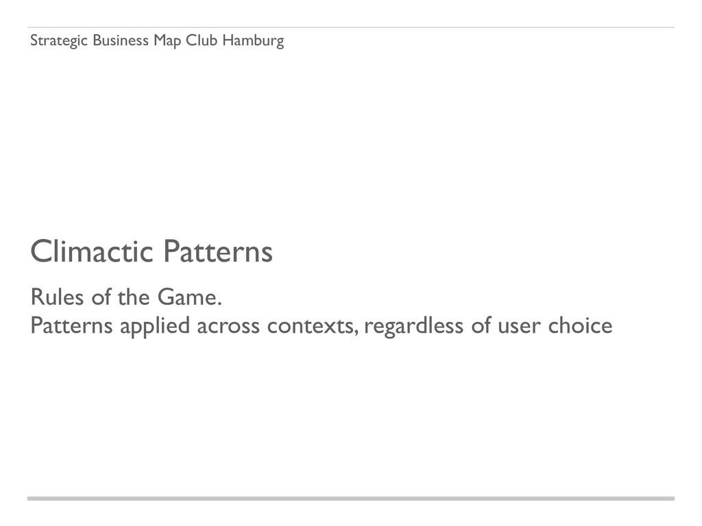 Strategic Business Map Club Hamburg Climactic P...
