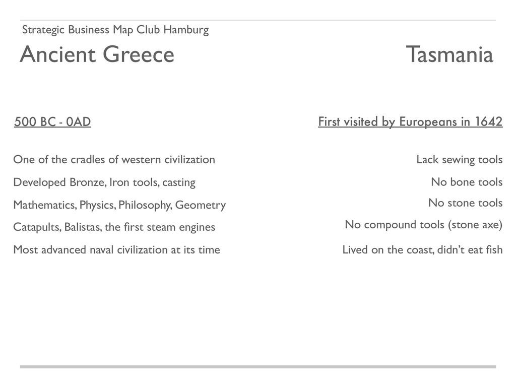 Strategic Business Map Club Hamburg Ancient Gre...